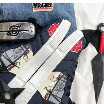 Unisex Fashion Shoes Anime Casual Shoes Men Hip Hop Shoes Fashion Clunky Sneakers For Men Vulcanize Shoes Sasuke Kakashi cosplay 1