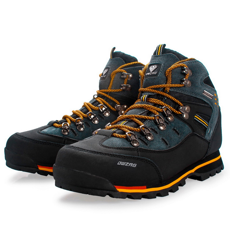 Men Shoes Snow-Boots Non-Slip Waterproof Winter Casual New-Fashion Outdoor Warm Fur Hot-Sale title=