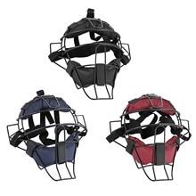 Baseball Protective Helmet Softball Face Guard Adjustable Buckles Face Protector Cover With Cushion For Baseball Pleasure