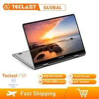 Teclast F5R Laptop 8GB RAM 256GB Windows 10 OS 11.6 Inch Intel APOLLO LAKE N3450 Quad Core 1.1GHz CPU SSD Touch Screen HDMI