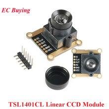 TSL1401CL 128*1 Linear CCD Camera Module Sensor Array Ultra Wide-Angle Lens 120 Degrees 128x1 DIY Ki