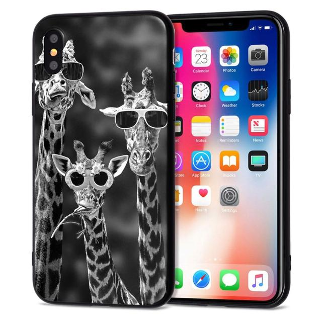 SILICON CASES FOR  iPhone 5 S SE X  6s 6 7 8 Plus XS Max XR  4