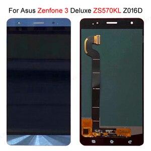 "Image 2 - מהיר המניה עבור ASUS Zenfone 3 Deluxe Z016S Z016D ZS570KL LCD תצוגת מסך מגע Digitizer הרכבה 5.7 ""עבור ASUS ZS570KL LCD"