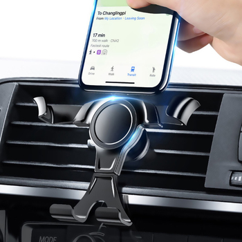 Universal Gravity Car Phone Holder For Mobile Phone In Car Air Vent Mount Stand For iPhone 7 8 X XS Samsung Support Car Holder image
