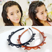 Christmas Hair Accessories Double Bangs Hairstyle Hairpin Hair Accessories Double Layer