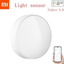 Original MI Mijia Smart Light Sensor Zigbee Light Detection Intelligent Linkage Waterproof Used With Smart Multi mode Gateway