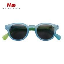 Meeshow Sunglasses 2020 NEW ARRIVAL Retro Men Glasses Europe