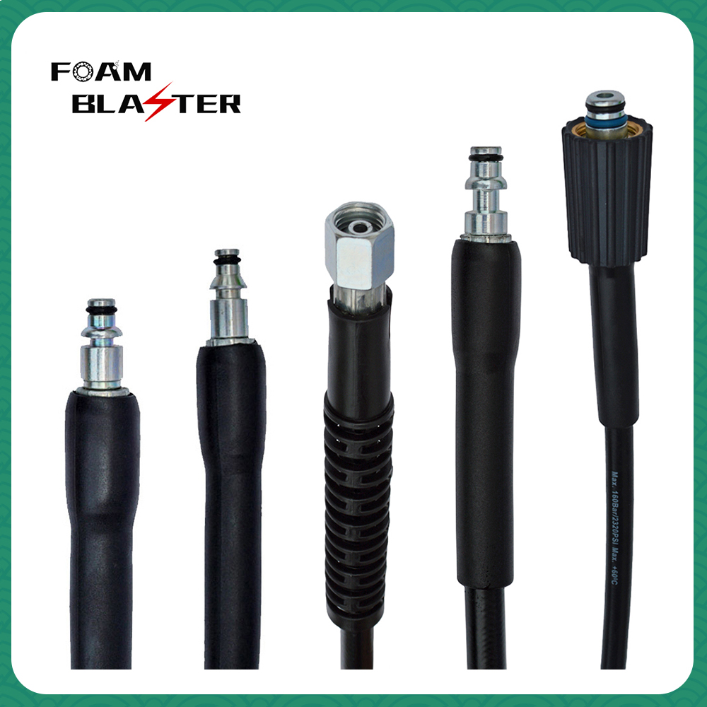 10m High Pressure Washer Hose Carwash Water Cleaning Hose Extension Hose Cord Pipe For Bort HAMMER Huter Bosch Daewoo Sterwins
