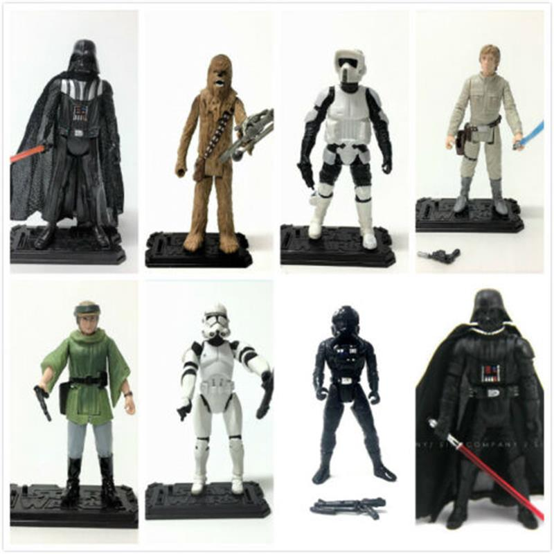 1pc Star Wars 3.75 Inches Action Figure Boy Gift