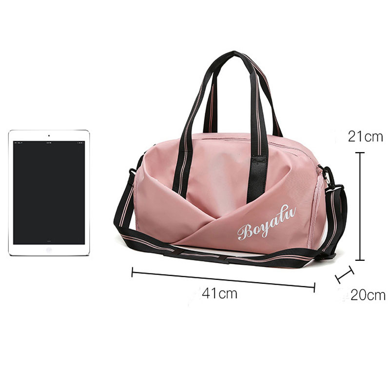 Women Gym Bag Sports Fitness Handbag Training Bags For Shoes Travel Dry And Wet Yoga Mat Sac De Sport Mochila Sporttas 2