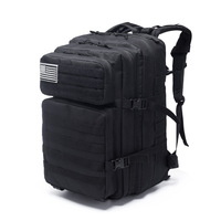 45L Large Capacity Man Army Tactical Backpacks Military Assault Bags Outdoor 3P EDC Molle Pack For Trekking Camping Hunting Bag|Sport Bags Covers| |  -