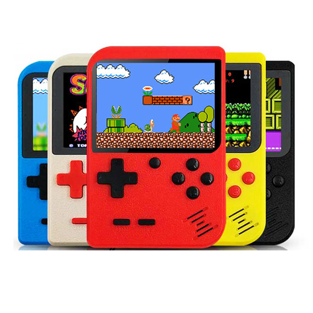 Newest Video-Game 8 Bit Retro Mini Pocket Gameboy Handheld Game Player Built-in 400 Classic Games For Child Nostalgic Player