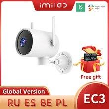 Imilab ec3 ao ar livre wi fi câmera ip mi câmera de segurança em casa 2k câmera de visão noturna humano dection cctv câmera de vigilância de vídeo