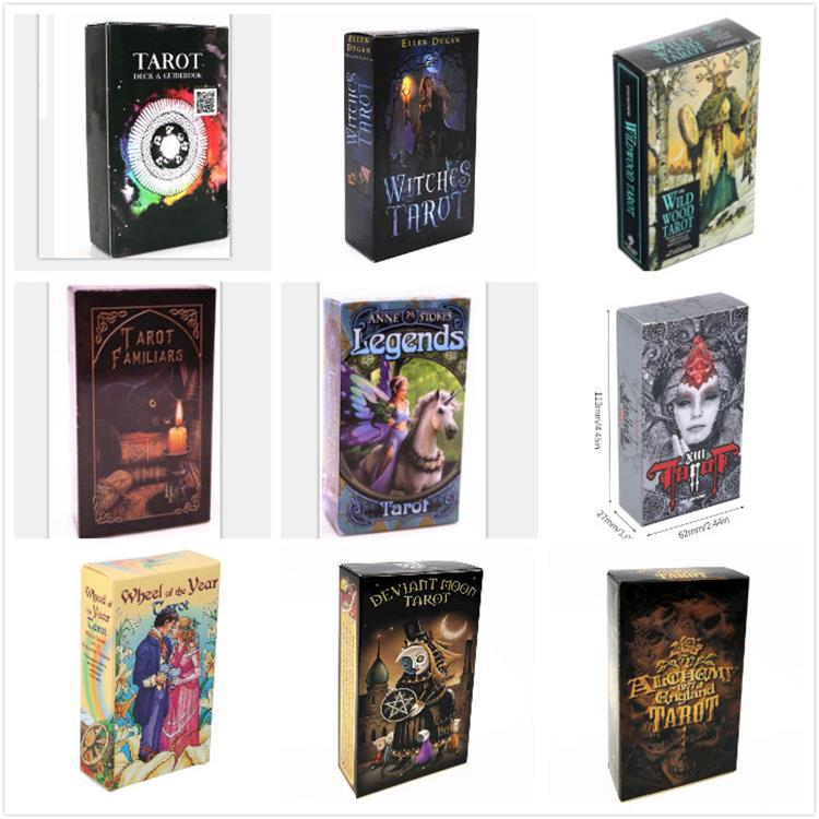 2020 Witches Tarot Cards & Shadowscapes Tarot Deck Cards Game, Mythic Divination Read Your Fortune Board Game