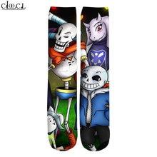 Cloocl Прямая поставка 2021 новые модные мужские носки с 3d