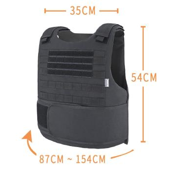 MGFLASHFORCE Airsoft Tactical Vest Plate Carrier Swat Fishing Hunting Military Army Armor Police Molle Vest 2