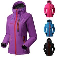 SAENSHING Водонепроницаемая флисовая куртка женская брендовая дождевик верхняя одежда женская ветрозащитная мягкая оболочка флисовая походная куртка