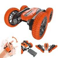 Dual Conrol RC Stunt Auto Gesture Sensing Fernbedienung Elektrische Hohe Geschwindigkeit 360 Rotierenden Buggy Led Vihicle Mit Box