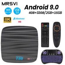 T98 Mini TV Box Android 9.0 Smart TV
