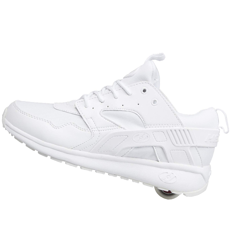 Quality White Sneakers with Wheels Boys