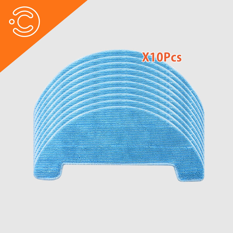 Robot vacuum cleaner mop cloth for Ecovacs <font><b>Deebot</b></font> <font><b>M82</b></font> DM82 vacuum cleaner Replaceable dedicated parts image