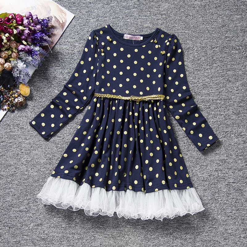 Hca1c0d641f1c455e970ecd218b5837a44 3-12 Years Girls Polka-Dot Dress 2019 Summer Sleeveless Bow Ball Gown Clothing Kids Baby Princess Dresses Children Clothes