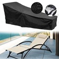 Защита от влаги шезлонг покрытие автомобиля, защита от солнца, чехол для кресла для отдыха внутренний дворик день шезлонг крышка мебель для ...