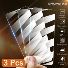 15D 3 uds la cubierta de vidrio templado para Xiaomi Redmi Nota 9 8 8T 7 5 6 9S Pro Protector de pantalla máx para Redmi 8A 7A 9A 10X de vidrio