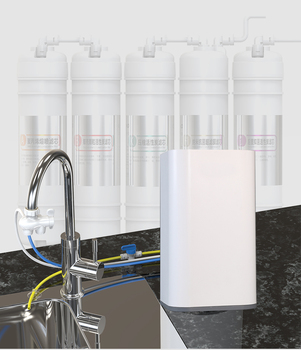 Countertop RO Water Purifier Membrane Reverse Osmosis Water Filter System 5 Stage Filt Simple Set Up Faucet Filter Express Water osmosis water filter for sell 3 stage prefilter