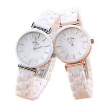 SAILWIND Ceramic Bracelet Wristwatches Women Luxury Ladies Quartz Watch