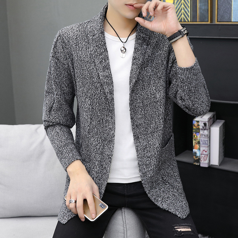 Fashionable Man Sweater Manufacturers Selling New Male Fashion Simple Cardigan Sweater Cardigan Knitting Cardigan Men Male Coat