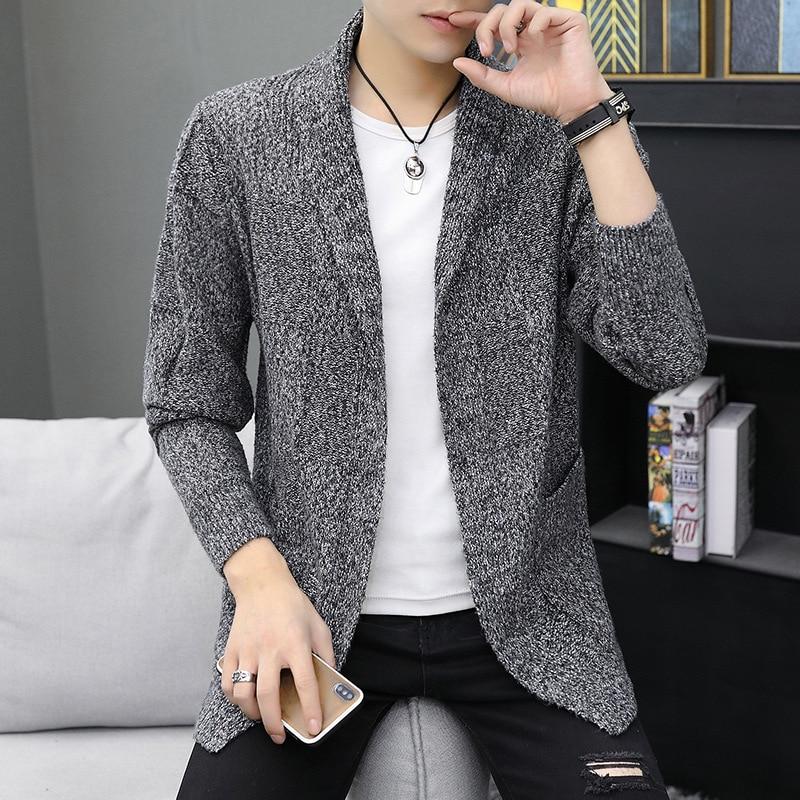 Fashionable Man Sweater Manufacturers Selling New Male Fashion Simple Cardigan Sweater Cardigan Knitting Cardigan Men Male Coat