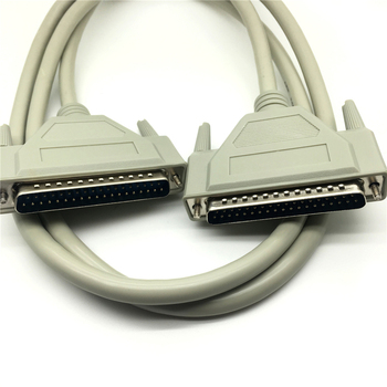 1.5m 3m 5m 37p broche DB37 mâle à femelle DB37 mâle à mâle Port série étendre câble de données 1.5m 3m 5m connecteur