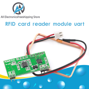 Módulo Lector de Llavero con ID de tarjetas RFID 125Khz EM4100 RDM6300 (RDM630) para Arduino