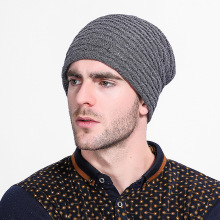 Women Men Unisex Knitted Winter Cap Casual new wool cap  fish scale plus velvet knitted hat mens winter hats Beanie Hat hip hop