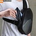 Xiaomi Mijia BEABORN Polyeder PU Rucksack Tasche Wasserdichte Bunte Freizeit Sport Brust Pack Taschen Für Herren Frauen Reise Camping