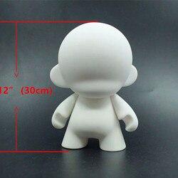 13 модные мягкие пластиковые игрушки Kidrobot big Dunny Munny белые куклы для рисования эскиз персонажей сделай сам, виниловый арт игрушки