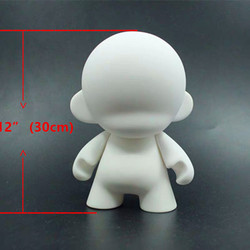 13 fashion soft plastic Kidrobot big Dunny Munny toys white drawing dolls sketch of characters DIY Vinyl Art Figure toys
