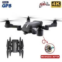 Dron X28 teledirigido con Motor sin escobillas, GPS, posicionamiento preciso, cámara 4K HD, fotografía aérea profesional, Quadcopter plegable, novedad de 2020