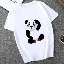 Женская футболка с принтом панды винтажная Повседневная в стиле