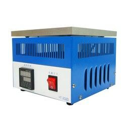 800W Honton BGA reballing stacji HT 2020 wodne ogrzewanie postojowe stała temperatura płyta grzewcza stacji do lutowania stacji 220v 110v