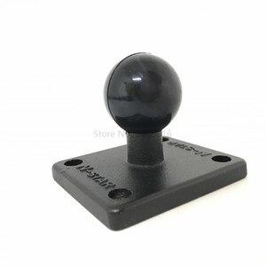 Image 3 - Socle de montage carré en aluminium pour caoutchouc 1 pouce Compatible avec les supports Ram pour appareil photo Gorpo DSLR pour Garmin