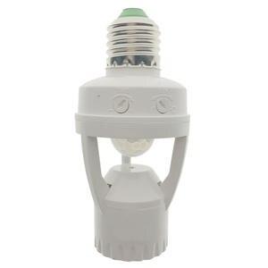 Lamp-Holder Motion-Sensor Pir Socket-Switch Induction Infrared 110-220V 360-Degrees E27