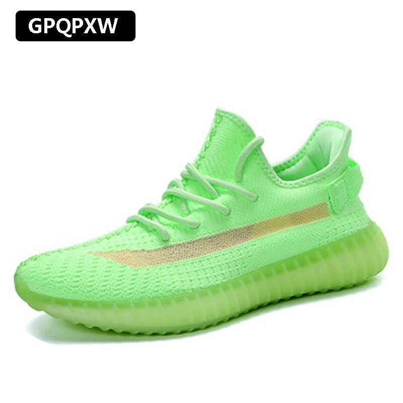2019 Summer Mesh Shoes Men's Sneakers Breathable Shoes Men Casual Shoes Lace-up Men Shoes Moccasins Casual Walking 350
