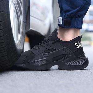 Image 5 - Lizeruee Lightweight Safety Shoes Men Shoes Steel Toe Anti Crush Work Breathable Sneakers Wear Resistance Zapatos de trabajo