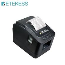 RETEKESS TD022 Portable Mini 72 mm Black Thermal ticket printer 160 for restaurant order system