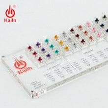Kailh 45 ปุ่ม Pro Speed สวิทช์คีย์บอร์ดเครื่องกล Tester โปร่งแสง CLEAR Keycaps สำหรับ Kailh MX Sampler หมวกเครื่องมือทดสอบ