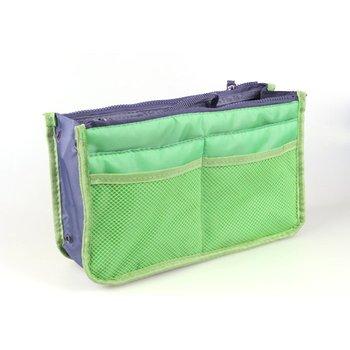 Organizator wkładka torba kobiety Nylon Travel organizator wkładany torebka torebka duża wkładka Lady makijaż kosmetyczka kobieta Tote tanie i dobre opinie