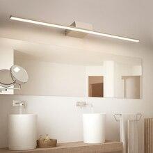 New Arrival Hot Black White Led bathroom mirror lights Modern makeup dressing bathroom led mirror lamp