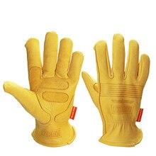 Новые Мотоциклетные Перчатки из овечьей кожи, спортивные ветрозащитные перчатки для защиты от холода, катания на сноуборде, лыжах, походах, ...